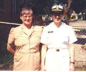 Trish Glees, US NAVY Veteran